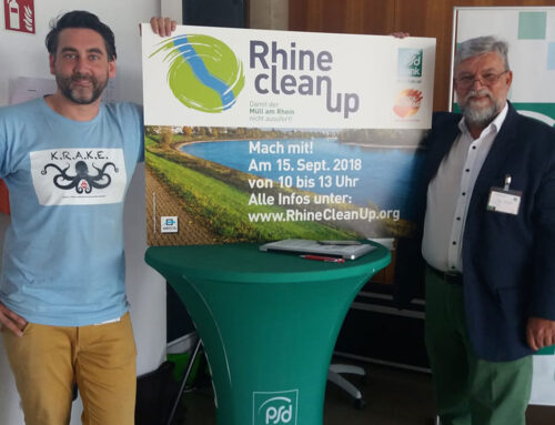 Erster Rhine CleanUp Day