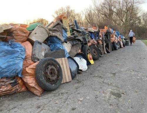 3,73 Tonnen Müll in Stammheim gesammelt
